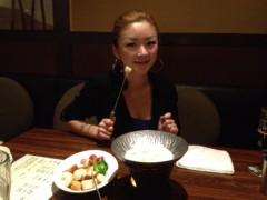 アクア新渡戸 公式ブログ/今夜はチーズファンデュから 画像1