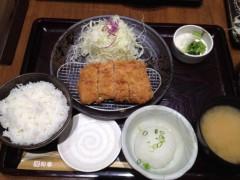 アクア新渡戸 公式ブログ/和光にておろしヒレカツ御膳 画像1