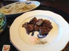 アクア新渡戸 公式ブログ/ステーキだよ! 画像1