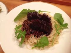 アクア新渡戸 公式ブログ/牛頬肉赤ワイン煮フィーチャリングパスタ(笑) 画像1