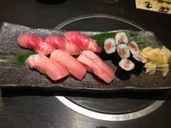 アクア新渡戸 公式ブログ/マグロすし! 画像1