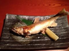 アクア新渡戸 公式ブログ/鮎の塩焼き 画像1