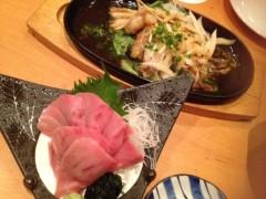 アクア新渡戸 公式ブログ/Birthday eve dinner 画像1