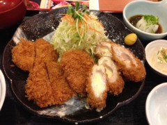 アクア新渡戸 公式ブログ/ヒレカツと事故 画像1
