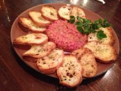 アクア新渡戸 公式ブログ/生牛肉の冷静タルタルステーキ 画像1