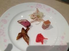 アクア新渡戸 公式ブログ/前菜から 画像1