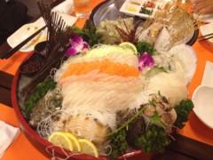 アクア新渡戸 公式ブログ/韓国料理店で 画像1
