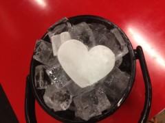 アクア新渡戸 公式ブログ/神田商店さんからハートを頂いた(笑) 画像1