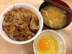 アクア新渡戸 公式ブログ/小盛り牛飯 画像1