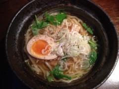 アクア新渡戸 公式ブログ/居酒屋にて中華麺にビール 画像1