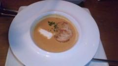 アクア新渡戸 公式ブログ/ワタリガにのクリームスープ(^∀^)ノ 画像1