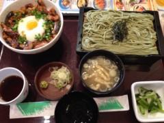 アクア新渡戸 公式ブログ/ウナとろろ丼定食 画像1
