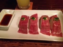 アクア新渡戸 公式ブログ/やけ食いPart2 画像1