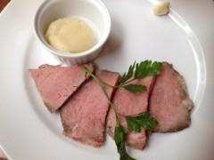 アクア新渡戸 公式ブログ/Roast beef 画像1