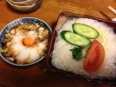 アクア新渡戸 公式ブログ/ソーメン!! 画像1