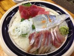アクア新渡戸 公式ブログ/お刺身盛り! 画像1