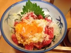 アクア新渡戸 公式ブログ/マグロユッケ丼 画像1