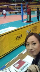 落合真理 公式ブログ/試合前日練習取材☆ 画像1