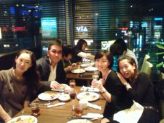 川上麻衣子 公式ブログ/お疲れさまの乾杯 画像1