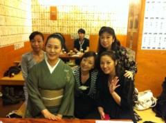 川上麻衣子 公式ブログ/ちょっと早めの打ち上げ 画像1