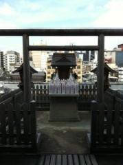 川上麻衣子 公式ブログ/南座楽屋より 画像1