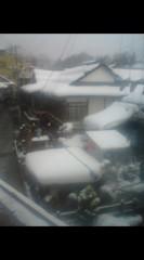 川上麻衣子 公式ブログ/この冬初めて見る雪 画像1