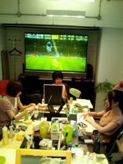 川上麻衣子 公式ブログ/メイク中 画像1