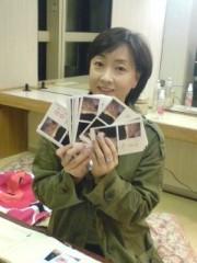川上麻衣子 公式ブログ/楽屋で年賀状 画像3