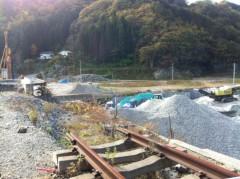 川上麻衣子 公式ブログ/三陸鉄道復興に向けて 画像2