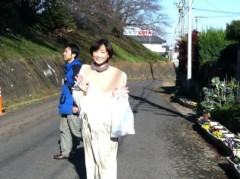 川上麻衣子 公式ブログ/ロケ現場より 画像1