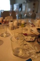 川上麻衣子 公式ブログ/グラスにペイント 画像2