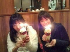 小泉ポロン 公式ブログ/お祝いパフェ 画像1