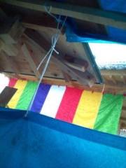 小泉ポロン 公式ブログ/雨のお寺で 画像1