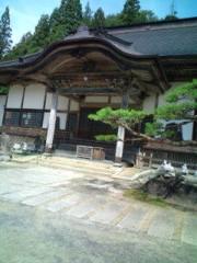 小泉ポロン 公式ブログ/お寺で演芸会 画像1
