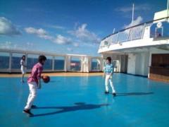 小泉ポロン 公式ブログ/海上バスケットボール 画像1