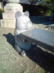 小泉ポロン 公式ブログ/石のパンダ 画像2