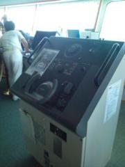 小泉ポロン 公式ブログ/初めての操舵室 画像1