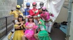小泉ポロン 公式ブログ/ゴセイジャーとご一緒 画像2
