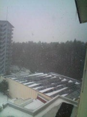 小泉ポロン 公式ブログ/吹雪いてきました 画像1