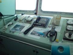 小泉ポロン 公式ブログ/初めての操舵室 画像3