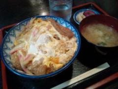 小泉ポロン 公式ブログ/お返事ときつね丼と 画像1