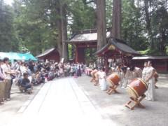 大塚宝 公式ブログ/世界遺産「日光二荒山神社」奉納演奏♪ 画像2