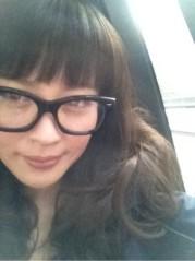 三浦理恵子 公式ブログ/だて眼鏡 画像1