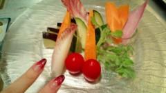 彩原ゆい 公式ブログ/野菜パーティー∩^ ω^∩ 画像1