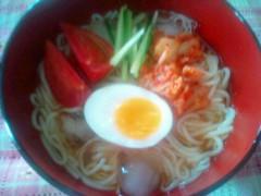 彩原ゆい 公式ブログ/冷麺はじめました。 画像1