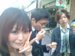 彩原ゆい 公式ブログ/リハ前にp(^-^)q 画像1