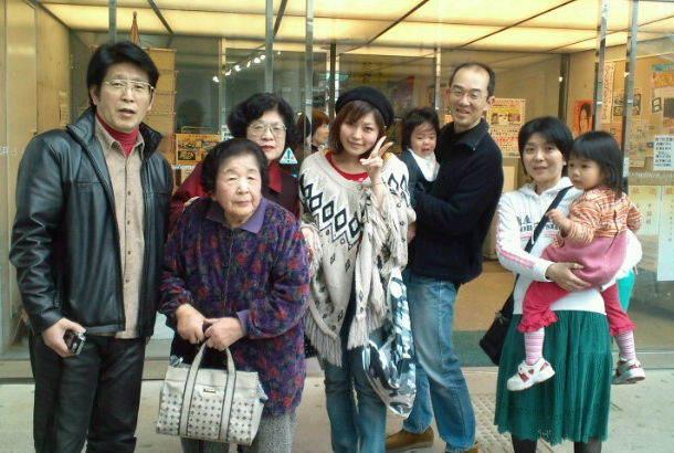 広島の親戚(左がお父ちゃま)
