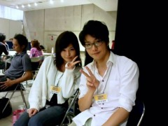 彩原ゆい プライベート画像/彩原ゆいのアルバム3 2011.8〜 待ち時間中に志賀さんと♪