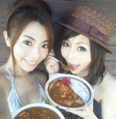 彩原ゆい プライベート画像/彩原ゆいのアルバム2 2011.5〜 現場で優美ちゃんとカレー♪
