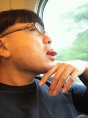 イジリー岡田 公式ブログ/新幹線で気取ってしまいま舌… 画像1